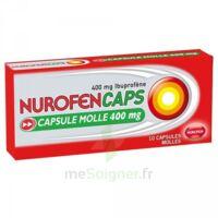 NUROFENCAPS 400 mg Caps molle Plq/10 à YZEURE