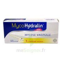 MYCOHYDRALIN 500 mg, comprimé vaginal à YZEURE
