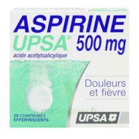 ASPIRINE UPSA 500 mg, comprimé effervescent à YZEURE
