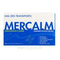MERCALM, comprimé pelliculé sécable à YZEURE