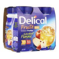 DELICAL BOISSON FRUITEE Nutriment pomme 4Bouteilles/200ml à YZEURE