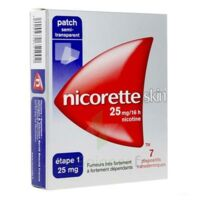 Nicoretteskin 25 mg/16 h Dispositif transdermique B/28 à YZEURE