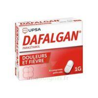 DAFALGAN 1000 mg Comprimés pelliculés Plq/8 à YZEURE