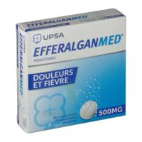 EFFERALGANMED 500 mg, comprimé effervescent sécable à YZEURE