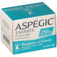 ASPEGIC ENFANTS 250, poudre pour solution buvable en sachet-dose à YZEURE
