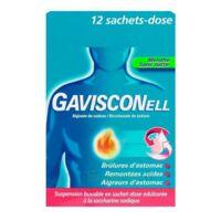 Gavisconell Suspension Buvable Sachet-dose Menthe Sans Sucre 12sach/10ml à YZEURE