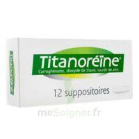 TITANOREINE Suppositoires B/12 à YZEURE