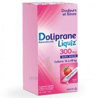 Dolipraneliquiz 300 mg Suspension buvable en sachet sans sucre édulcorée au maltitol liquide et au sorbitol B/12 à YZEURE