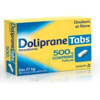 DOLIPRANETABS 500 mg Comprimés pelliculés Plq/16 à YZEURE