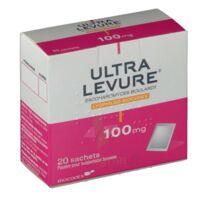 ULTRA-LEVURE 100 mg Poudre pour suspension buvable en sachet B/20 à YZEURE