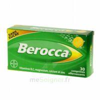 Berocca Comprimés effervescents sans sucre T/30 à YZEURE