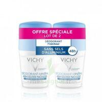 Vichy Déodorant Sans Sels D'aluminium 48h 2 Billes/50ml à YZEURE