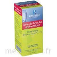 HEXETIDINE BIOGARAN CONSEIL 0,1 % Solution bain bouche 200ml à YZEURE