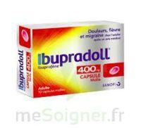 IBUPRADOLL 400 mg Caps molle Plq/10 à YZEURE
