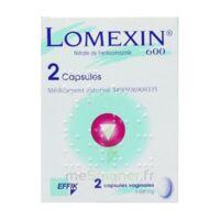 LOMEXIN 600 mg Caps molle vaginale Plq/2 à YZEURE