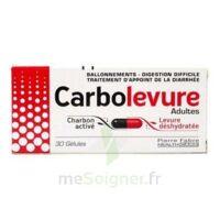 CARBOLEVURE Gélules adulte Plq/30 à YZEURE