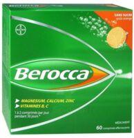 Berocca Comprimés effervescents sans sucre T/60 à YZEURE