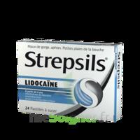 Strepsils lidocaïne Pastilles Plq/24 à YZEURE