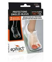 EPITACT SPORT PROTECTIONS ONGLES BLEUS EPITHELIUMTACT 02, Xlarge à YZEURE