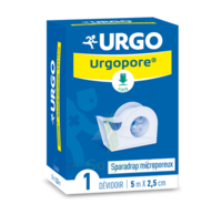 Urgopore Géant Sparadrap 2,5cmx9,14m dévidoir à YZEURE