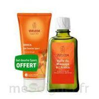 Weleda huile de massage arnica 200ml  + Gel douche OFFERT à YZEURE