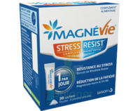 Magnevie Stress Resist Poudre orale B/30 Sticks à YZEURE