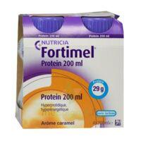 Fortimel Protein Nutriment caramel 4 Bouteilles/200ml à YZEURE