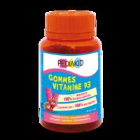 Pédiakid Gomme Ourson Vitamine D3 Fraise B/60 à YZEURE