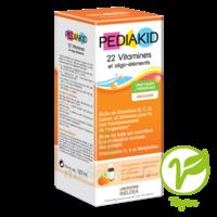 Pédiakid 22 Vitamines Et Oligo-eléments Sirop Abricot Orange 125ml à YZEURE