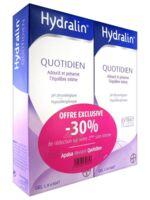 Hydralin Quotidien Gel lavant usage intime 2*200ml à YZEURE
