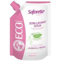 Saforelle Solution soin lavant doux Eco-recharge/400ml à YZEURE