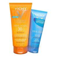 Vichy Idéal Soleil SPF30 Gel de lait ultra-fondant peau mouillée ou sèche 200ml+Après soleil à YZEURE