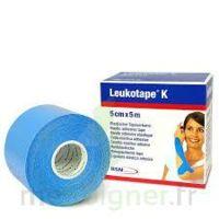 LEUKOTAPE K Sparadrap bleu ciel 5cmx5m à YZEURE
