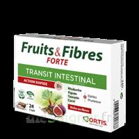 Ortis Fruits & Fibres Forte Cube à mâcher B/24 à YZEURE