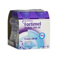 Fortimel Protein Sensation Nutriment Neutre 4 Bouteilles/200ml à YZEURE