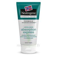 Neutrogena Crème pieds absorption express 100ml à YZEURE