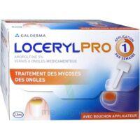 LOCERYLPRO 5 % V ongles médicamenteux Fl/2,5ml+spatule+30 limes+lingettes à YZEURE