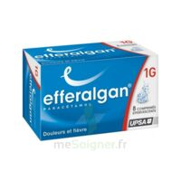 EFFERALGANMED 1 g Cpr eff T/8 à YZEURE