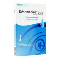 DESOMEDINE 0,1 % Collyre sol 10Fl/0,6ml à YZEURE