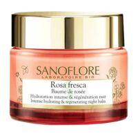 Sanoflore Rosa Fresca Baume De Rosée Nuit Pot/50ml à YZEURE