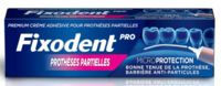 Fixodent Pro Crème Adhésive Pour Prothèse Partielle T/40g à YZEURE