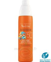 Acheter Avène Eau Thermale SOLAIRE Spray enfant 50+ 200ml à YZEURE