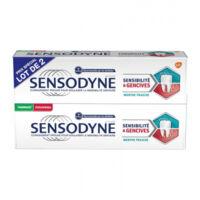 Sensodyne Sensibilité Et Gencives Menthe Fraîche 2t/75ml à YZEURE