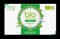 Nutrisanté Infusions Bio Thé Vert Menthe 20 Sachets à YZEURE