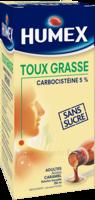 Humex 5 % Solution Buvable Expectorant Sans Sucre Adulte Fl/250ml à YZEURE