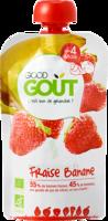 Good Goût Alimentation Infantile Fraise Banane Gourde/120g à YZEURE