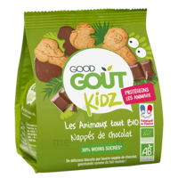 Good Goût Biscuit Animaux Nappé Chocolat B/120g à YZEURE