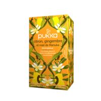Pukka Bio Citron, Gingembre Et Miel De Manuka Tisane Immunité Citron Gingembre Miel De Manuka 20 Sachets à YZEURE