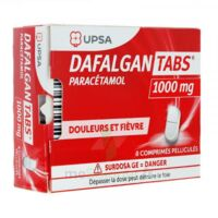 DAFALGANTABS 1 g Cpr pell Plq/8 à YZEURE
