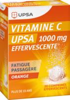 Vitamine C Upsa Effervescente 1000 Mg, Comprimé Effervescent à YZEURE